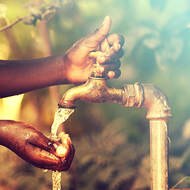The water crisis: a drop in the bucket
